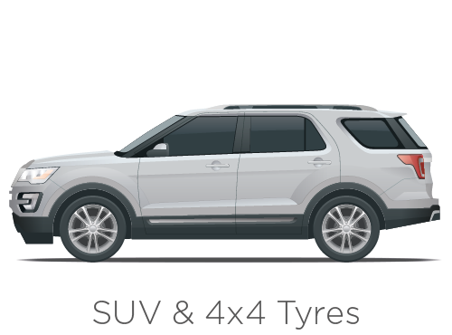SUV & 4x4 Tyres